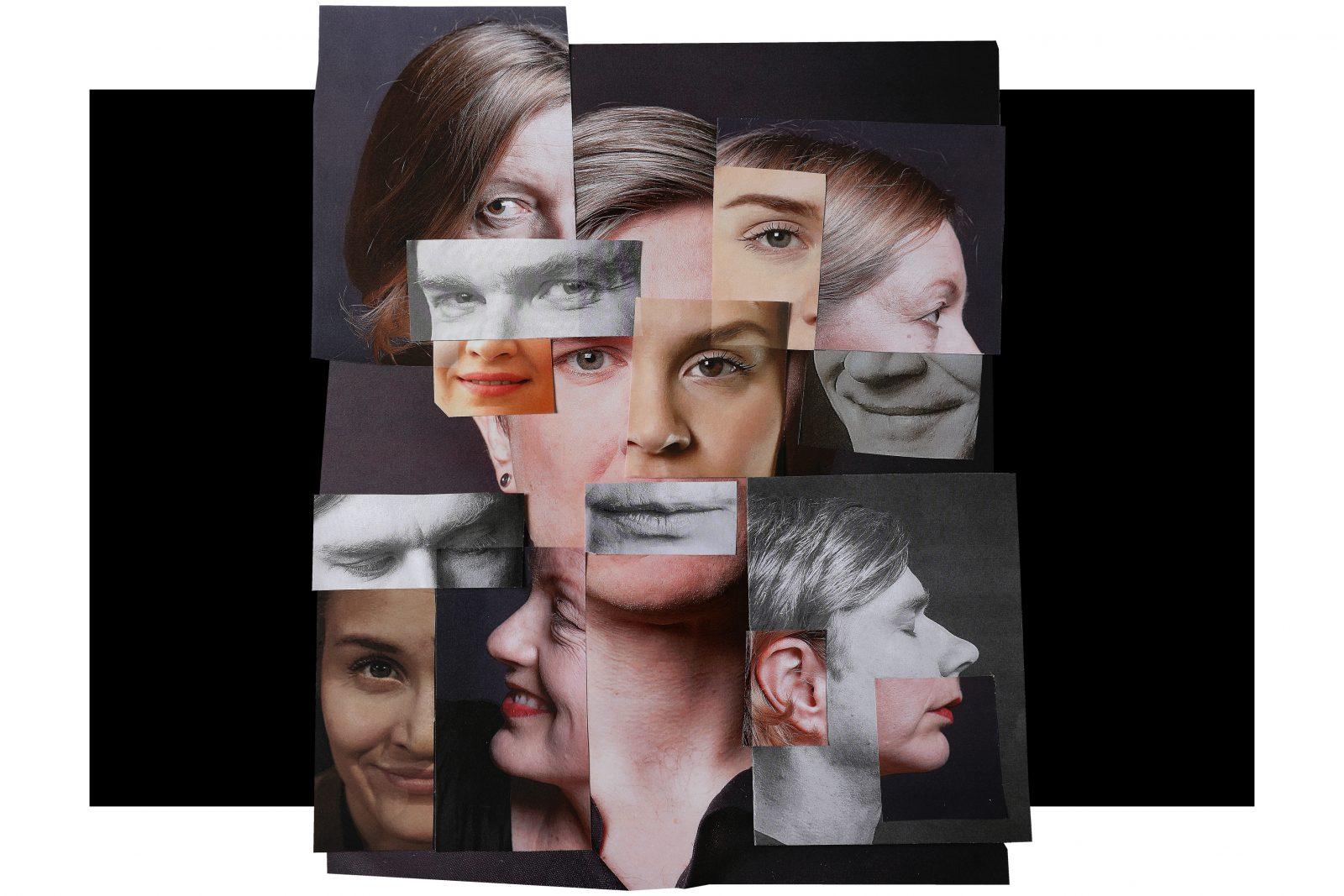 Kuvakollaasissa useita kasvoja