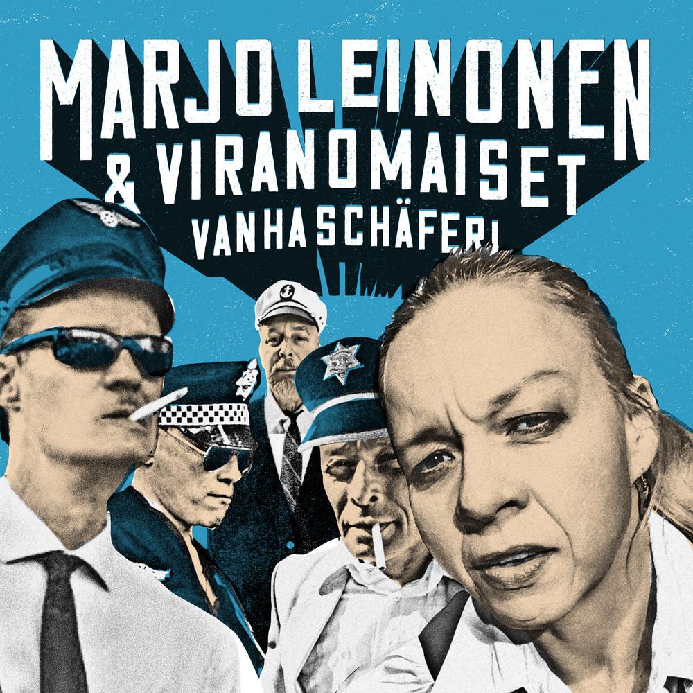 Marjo Leinonen ja viranomaiset levyn kansi