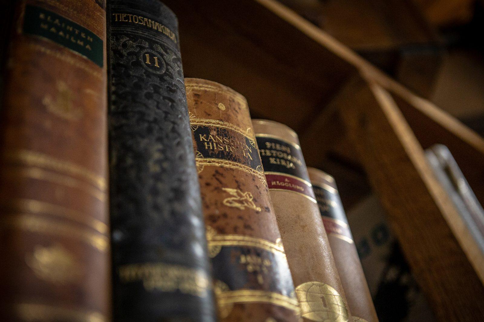 Vanhoja kirjoja